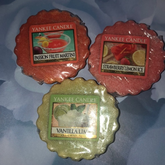 Limited Edition Yankee Candle Wax Melts Summer